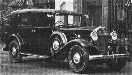 1933 humber pullman