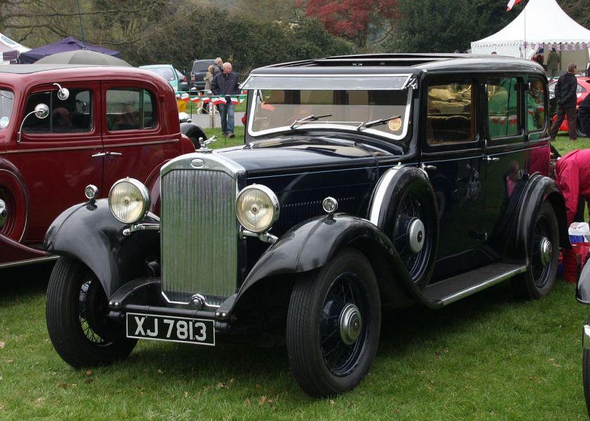 1933 Humber16-60 1933