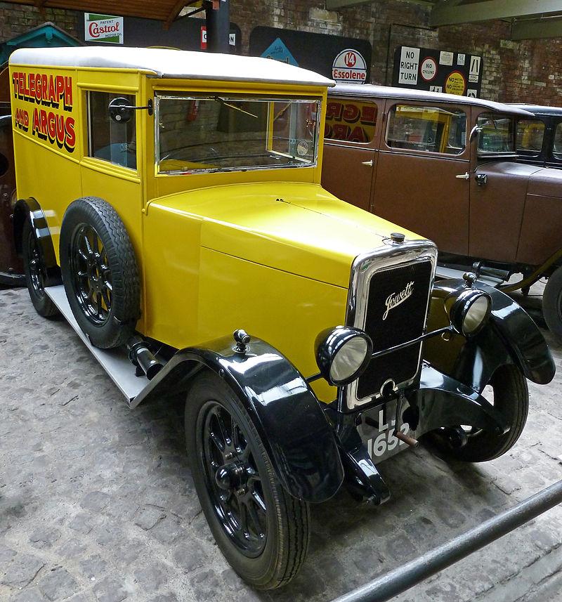 1933 Jowett 7-17HP Bradford Type C Van