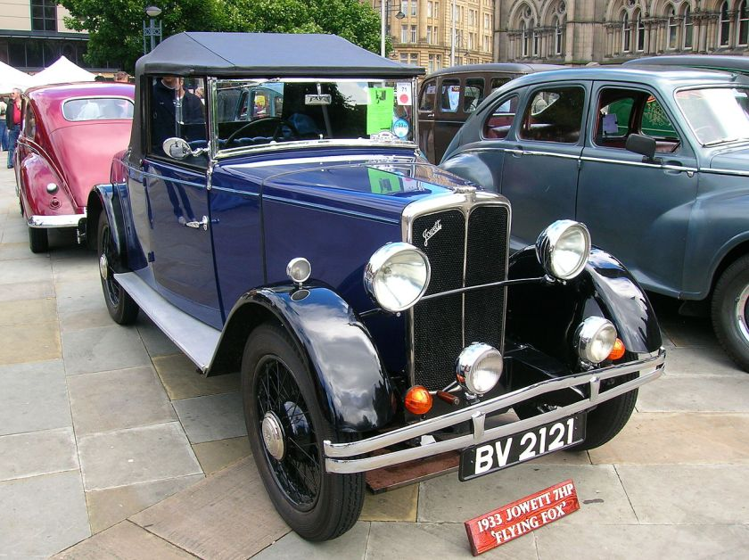 1933 Jowett 7 Flying Fox