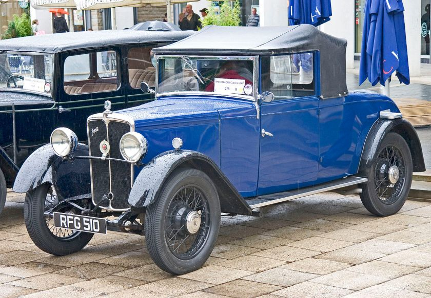 1933 Jowett Flying Fox  front
