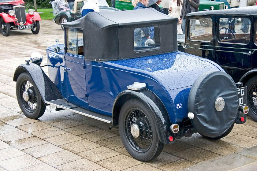 1933 Jowett Flying Fox rear