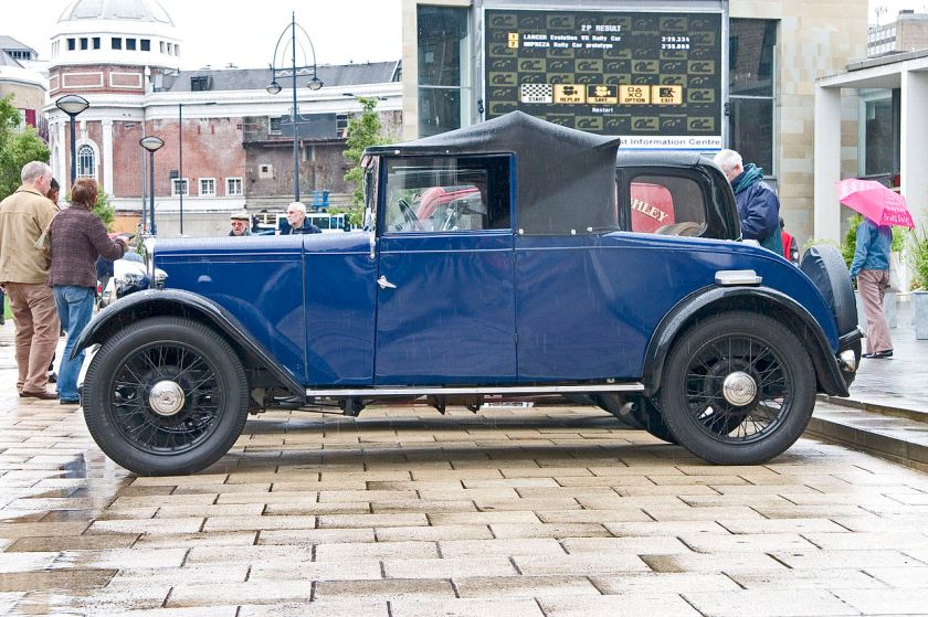 1933 Jowett Flying Fox side