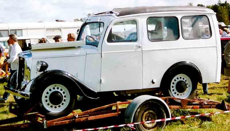 1933 Jowett Utility De Luxe