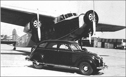 1934 de soto airflow se town sedan