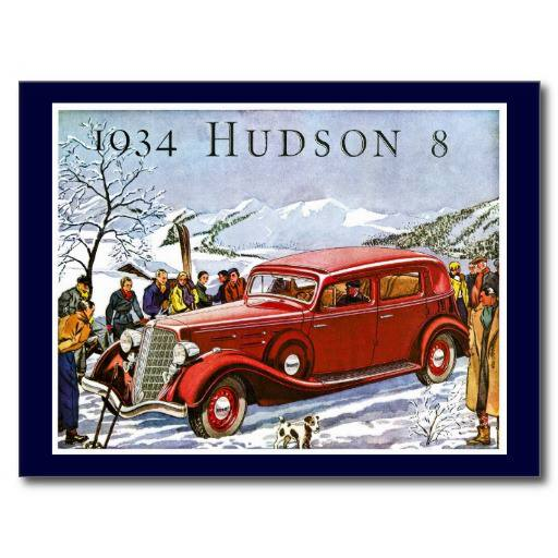 1934 Hudson 8