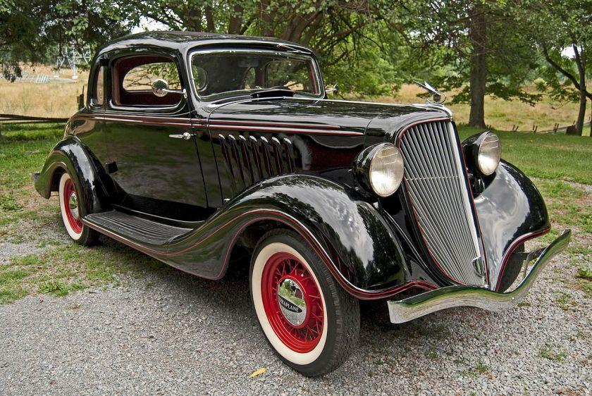 1934 Hudson Terraplane K-coupe
