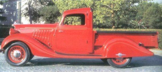 1934 Hudson terraplane truck