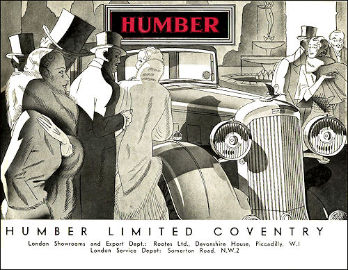 1934 humber 01e