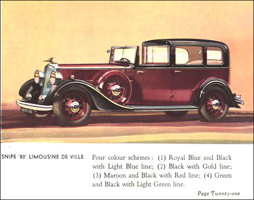 1934 humber 21a