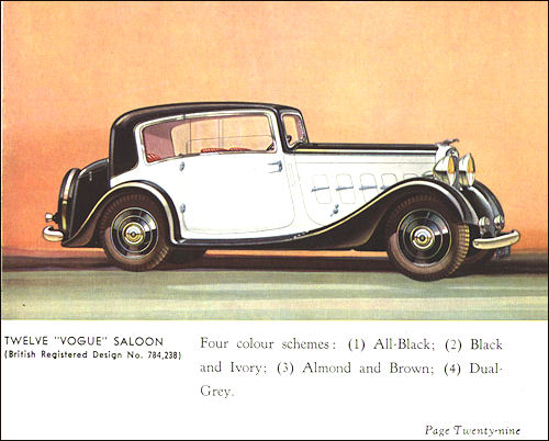 1934 humber 29a