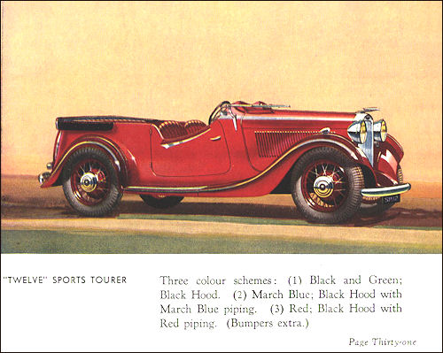 1934 humber 31a