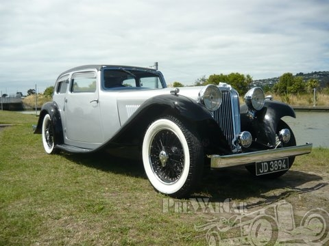 1934 Jaguar SS1 Light Four Saloon