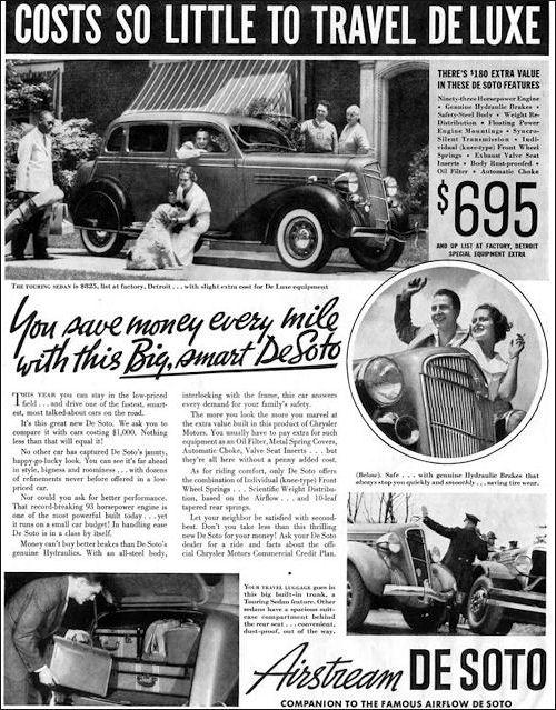 1935 de soto ad