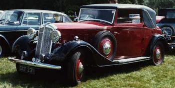 1935 humber snipe sports