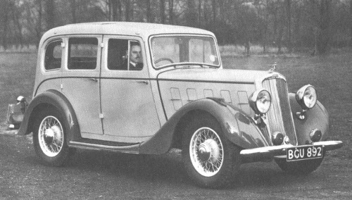 1935 humber twelve saloon