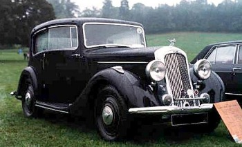 1935 humber vogue pillaress saloon