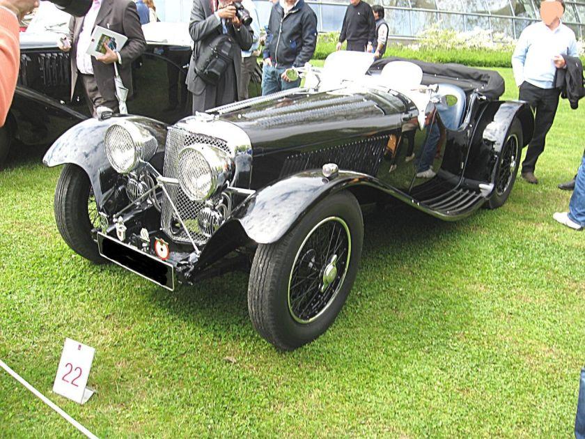 1935 Jaguar 2½-litre, 68 hp 1935 SS 90