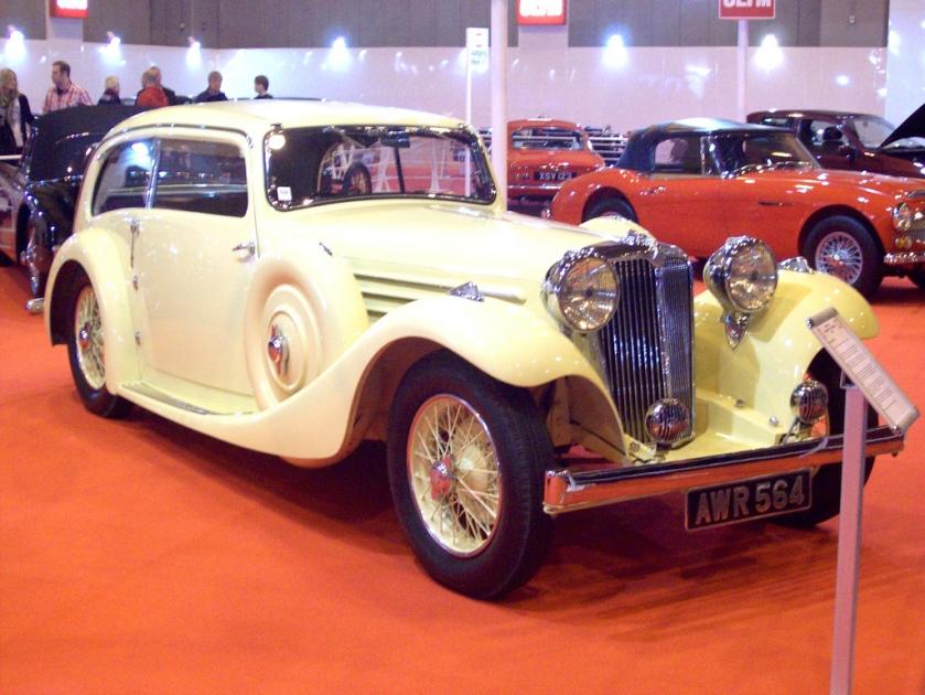 1935 Jaguar SS1 Airline Saloon Engine 2664cc S6