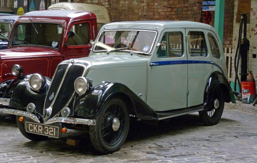 1935 Jowett 10HP Jason Saloon