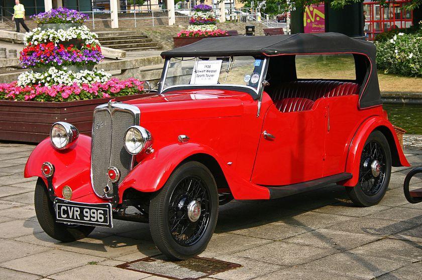 1935 Jowett 7Hp Weasel front