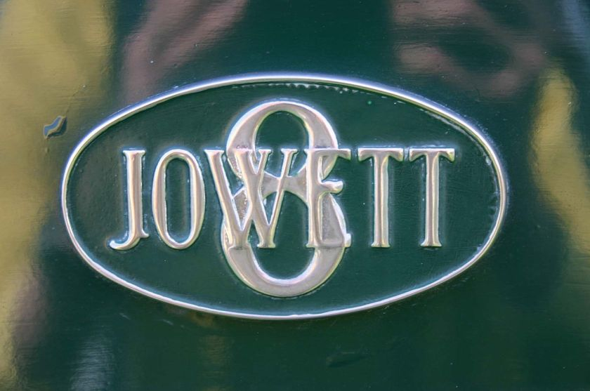 1935 Jowett Eight badge