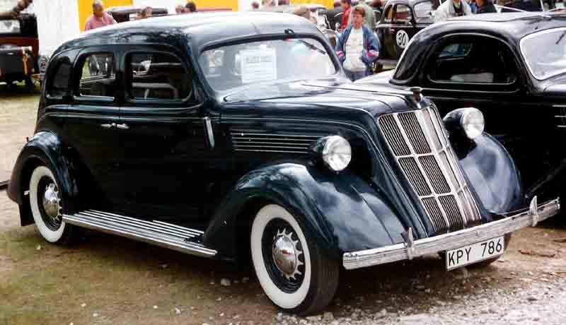 1935 Nash 3540 400 4-Door Sedan
