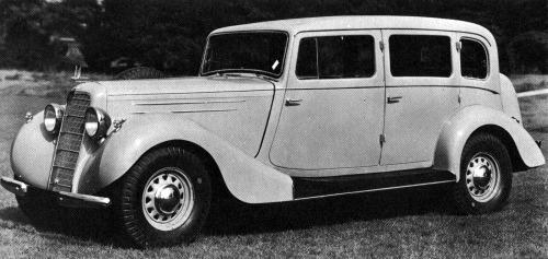 1936 hillman 80 limousine