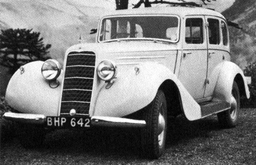 1936 hillman hawk saloon