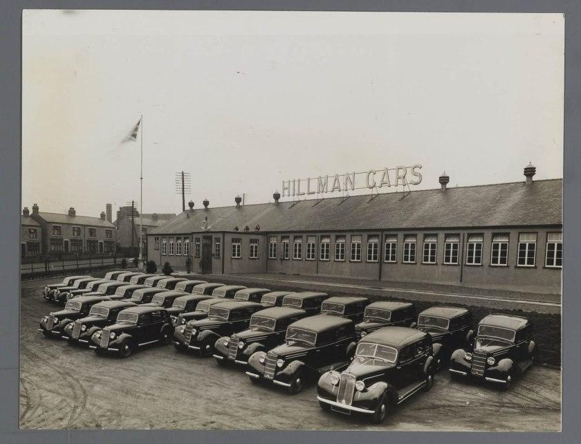 1936 Hillman Humber Cars