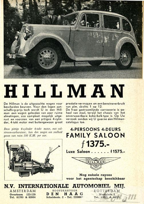 1936 hillman iam