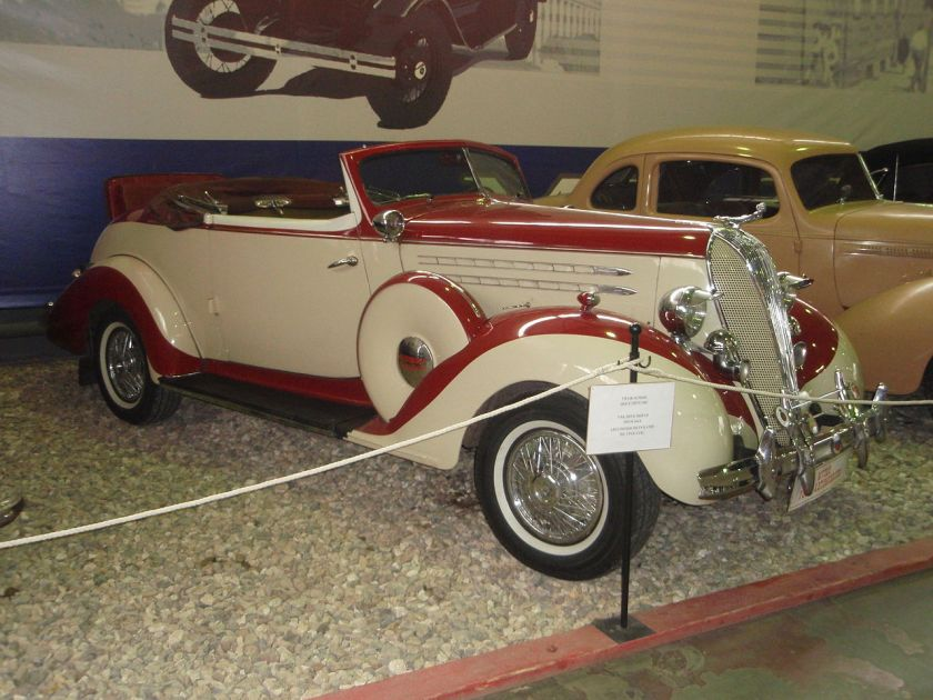 1936 Hudson Eight