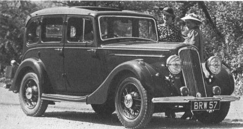 1936 humber 12 saloon