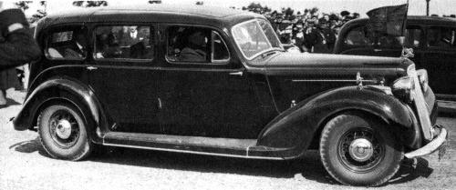 1936 humber pullman