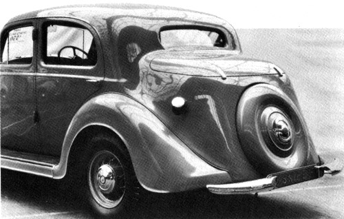 1936 humber snipe sports saloon tyl