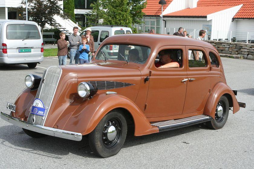 1936 Nash 400 de Luxe