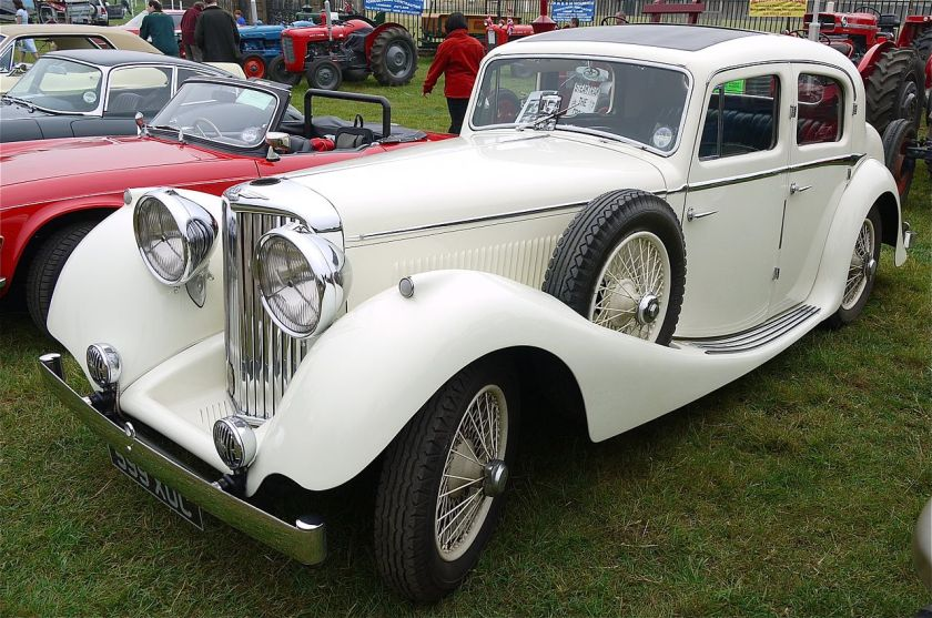1936 S. S. Jaguar 2½-litre sports saloon