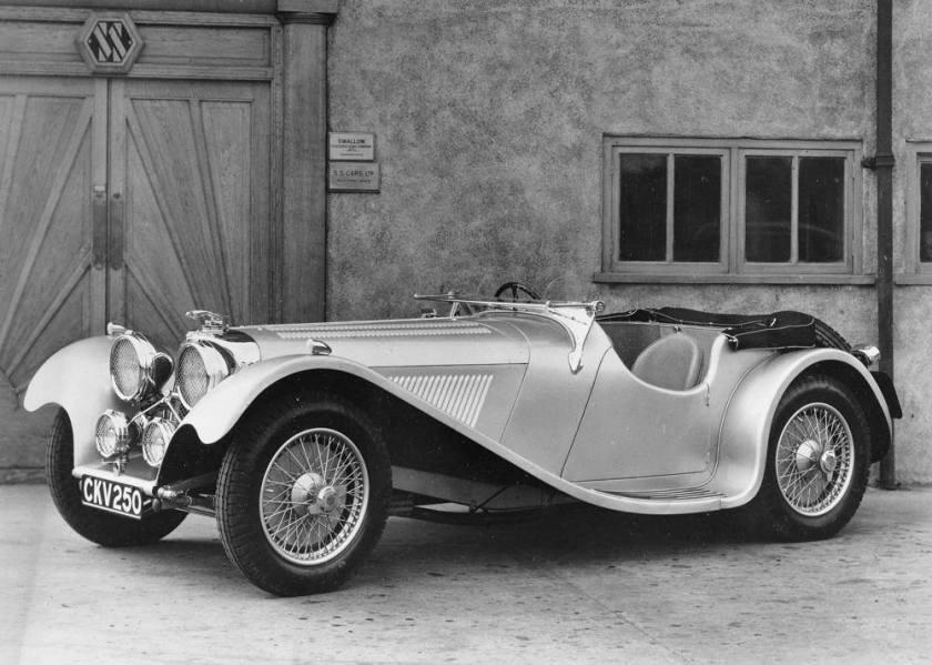 1936 SS Jaguar 100 3.5 litre