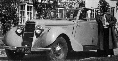 1937 hillman 16 tourer