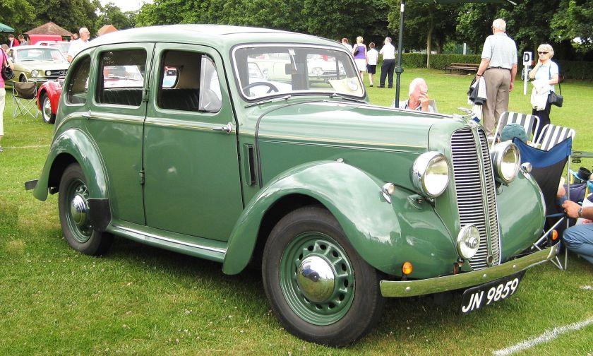 1937 Hillman Minx 1184cc