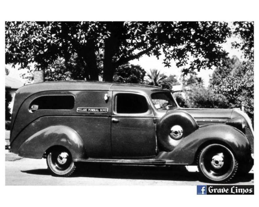 1937 Hudson Terraplane hearse