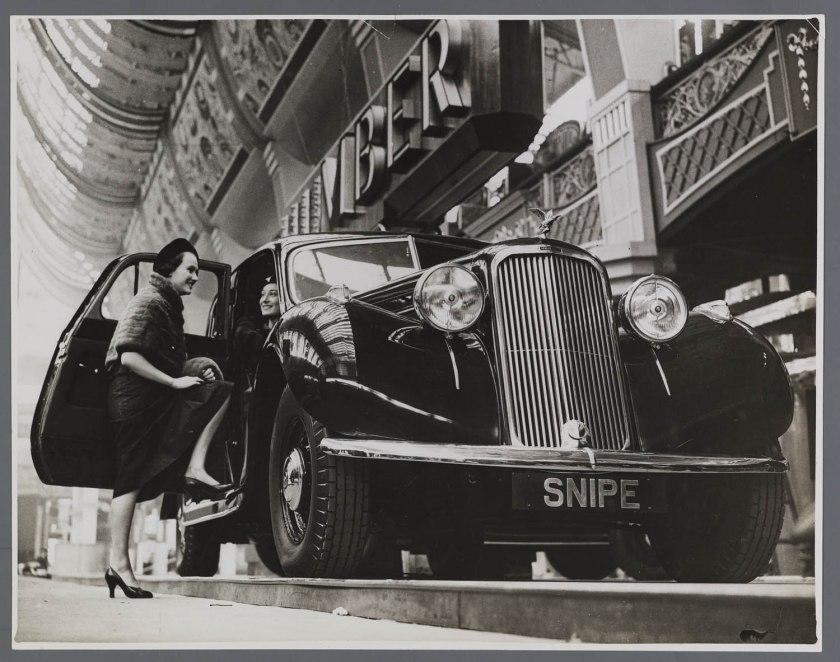 1937 Humber Snipe