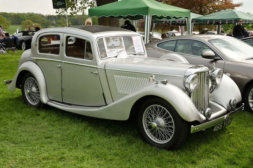 1937 Jaguar 1½ litre by SS