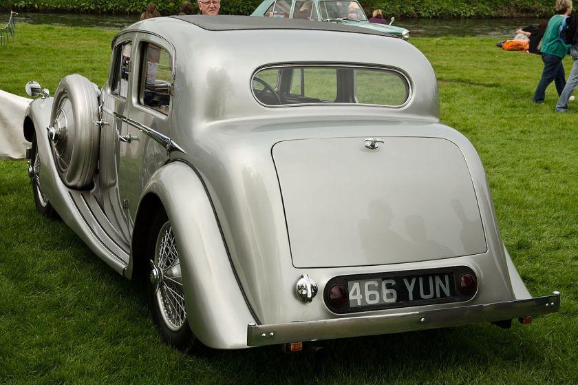 1937 Jaguar 1½ litre by SSa