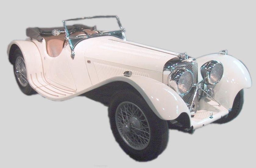 1937 Jaguar SS 100 a