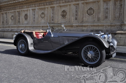 1937 Jaguar SS100 2½ Litre Roadster