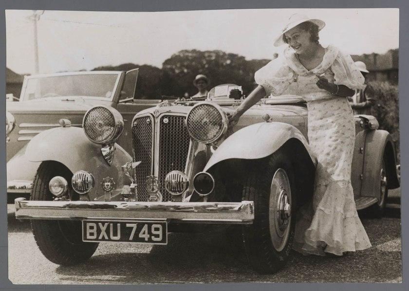 1937 Jaguar Swallow SS100 GB