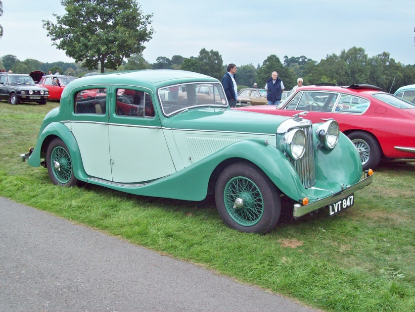 1938-48 Jaguar 2.5ltr. Saloon Engine 2664cc S6