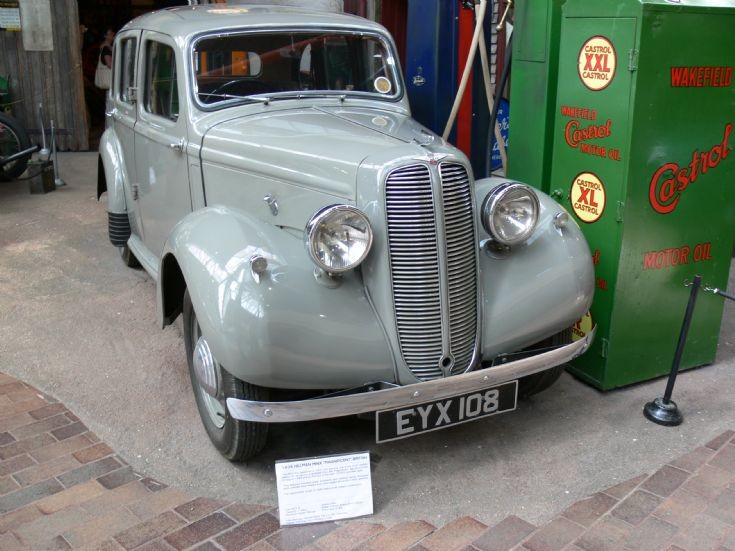 1938 Hillman Minx Magnificent