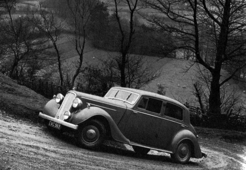 1938 humber snipe imperial saloon